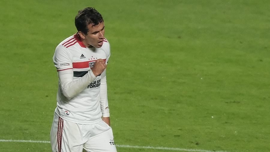 Pablo é uma das novidades no time titular do São Paulo - Marcello Zambrana/AGIF