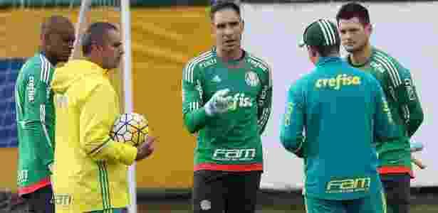 Goleiros do Palmeiras irão disputar vaga de Fernando Prass - Cesar Greco/Ag. Palmeiras