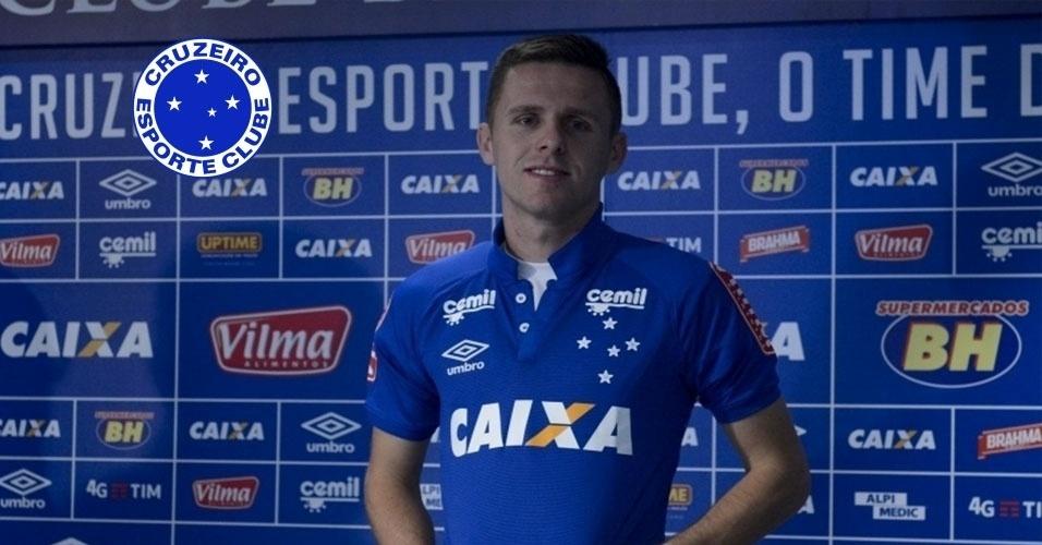 Montagem - Ezequiel (lateral) - Do Criciúma para o Cruzeiro