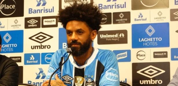 Cristian fará primeiro jogo com a camisa do Grêmio diante do Fluminense