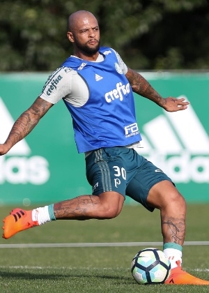 Felipe Melo durante treino na quinta-feira (5)