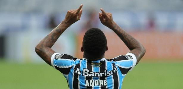André hoje defende a camisa do Grêmio