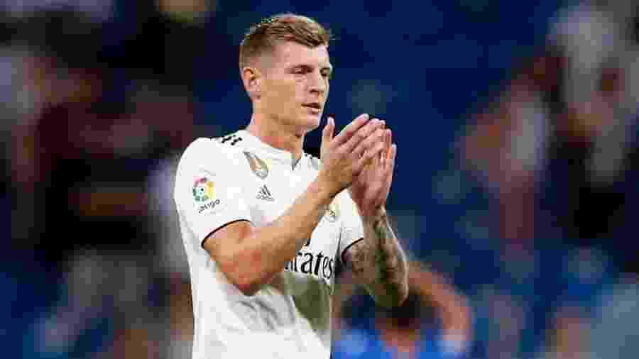 Toni Kroos brincou com o perfil do Real Madrid no Twitter sobre legendas em espanhol - Reprodução/Instagram
