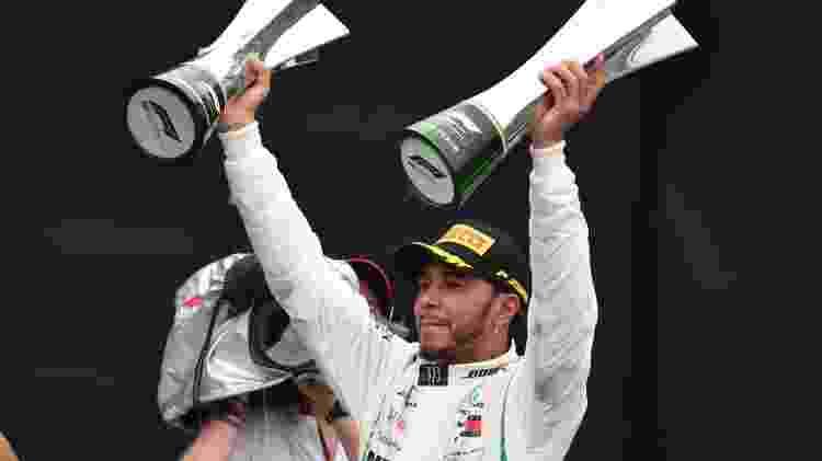 Lewis Hamilton GP Brasil - Nelson Almeida/AFP - Nelson Almeida/AFP