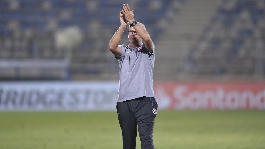 Odair Hellmann pode atingir sua melhor série no comando do Inter - Ricardo Duarte/Inter