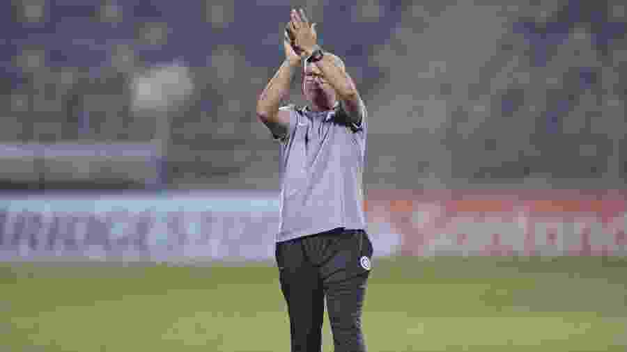 Odair Hellmann elogiou a atuação da equipe na segunda vitória pela Libertadores - Ricardo Duarte/Inter