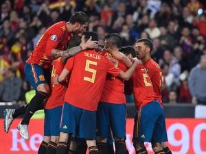 69068d190efaa Espanha joga bem e vence a Noruega na estreia das Eliminatórias da Euro