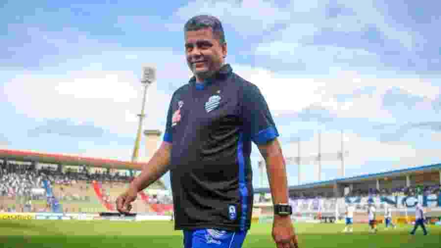 Marcelo Cabo, técnico do CSA - Assessoria CSA