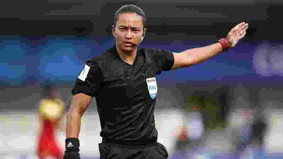 Edina Alves Batista será a primeira mulher a apitar jogo do Brasileirão desde 2005 - Alex Grimm - FIFA/FIFA via Getty Images