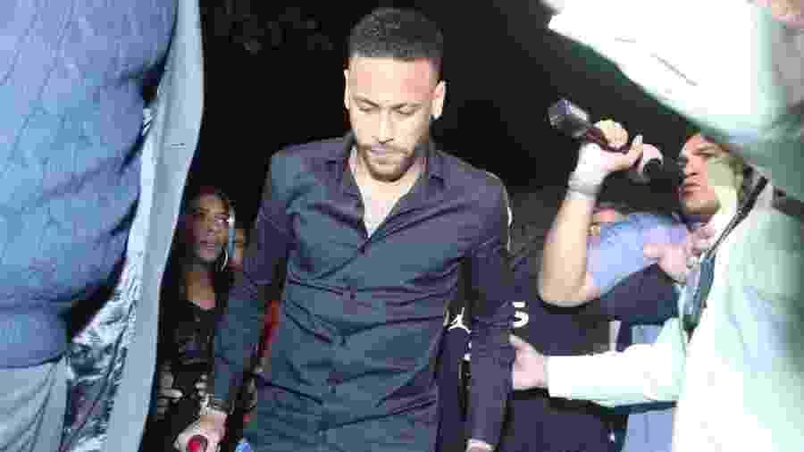 Neymar prestou depoimento na quinta-feira no Rio de Janeiro  - Thyago Andrade/AgBrazilNews