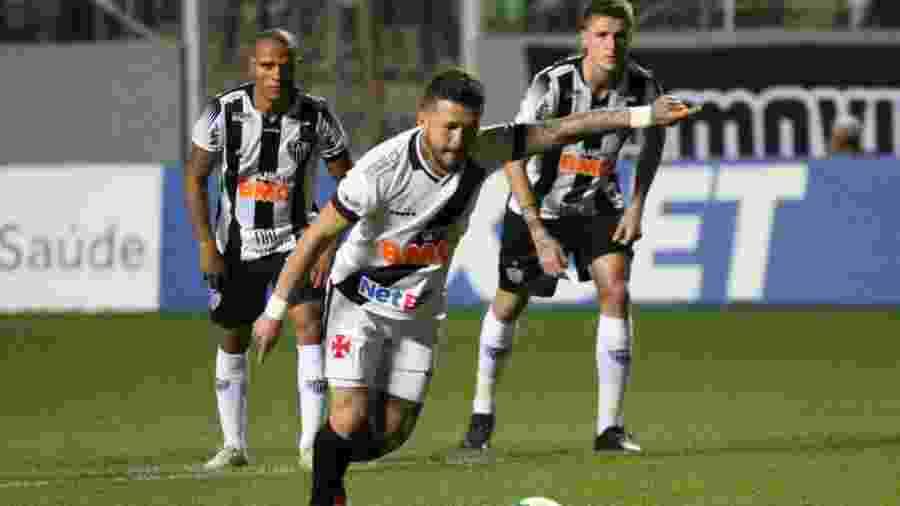 Atlético-MG perdeu para o Vasco no jogo anterior ao do duelo contra o Palmeiras - Fernando Moreno/AGIF