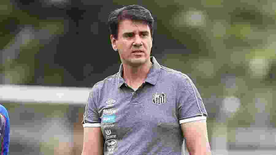 Jorge Andrade, gerente de base do Santos - Pedro Ernesto Guerra Azevedo/Santos FC