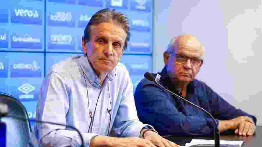 Paulo Luz, integrante do Conselho de Administração do Grêmio desde 2017, assume o futebol do clube - Lucas Uebel/Grêmio FBPA