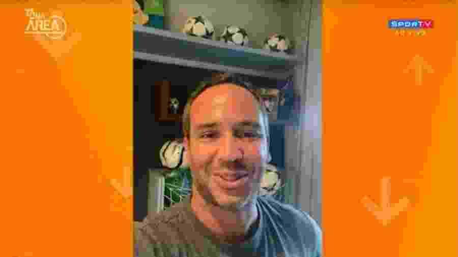 Caio Ribeiro participa de programa do SporTV - Reprodução/SporTV