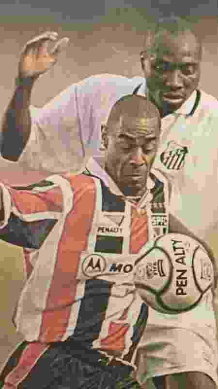 Vagner foi campeão paulista pelo São Paulo em 2000 - Acervo Pessoal - Acervo Pessoal