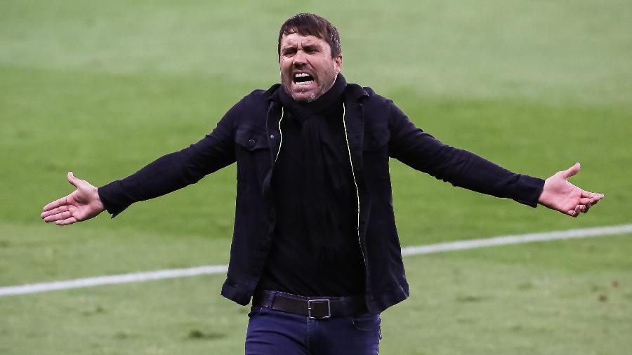 Eduardo Coudet trocou o Inter pelo Celta, da Espanha, há um mês - Pedro H. Tesch/AGIF