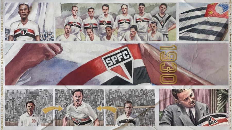 São Paulo faz 91 anos e recebe homenagens nas redes sociais - São Paulo FC
