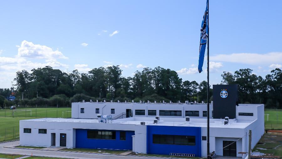CT das categorias de base do Grêmio cresceu em estrutura neste ano após reforma de R$ 10 milhões - Lucas Uebel/Grêmio FBPA