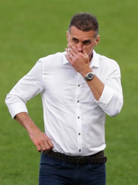 Vagner Mancini em partida contra a Inter de Limeira - Marcello Zambrana/AGIF
