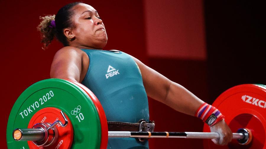 Jaqueline Ferreira em ação nas Olimpíadas de Tóquio - Edgard Garrido/Reuters