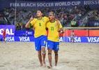 Suíça surpreende e derrota Brasil na estreia do Mundial de Beach Soccer