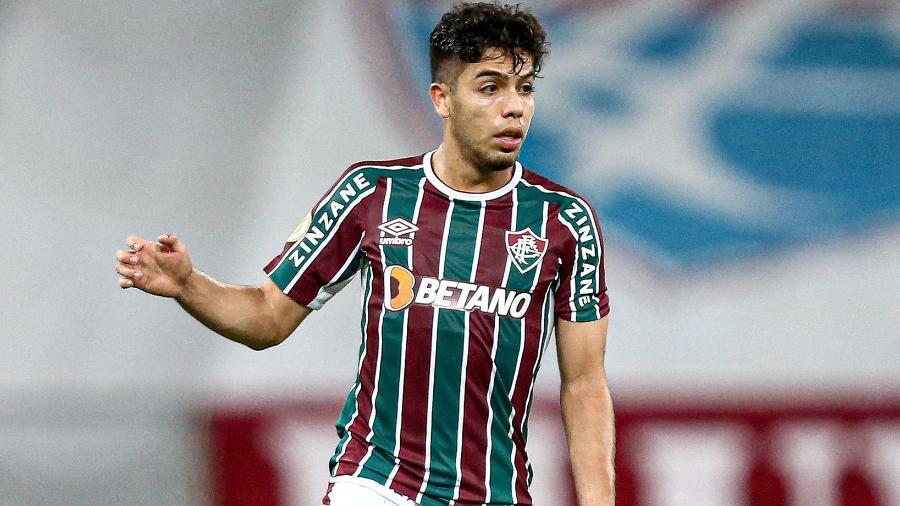 Nonato agradou Marcão e briga por vaga no time titular do Fluminense - Lucas Merçon/Fluminense FC