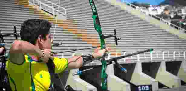 """Marcus Vinicius D""""Almeida, do tiro com arco, apareceu 582 vezes em propagandas - Divulgação / World Archery"""