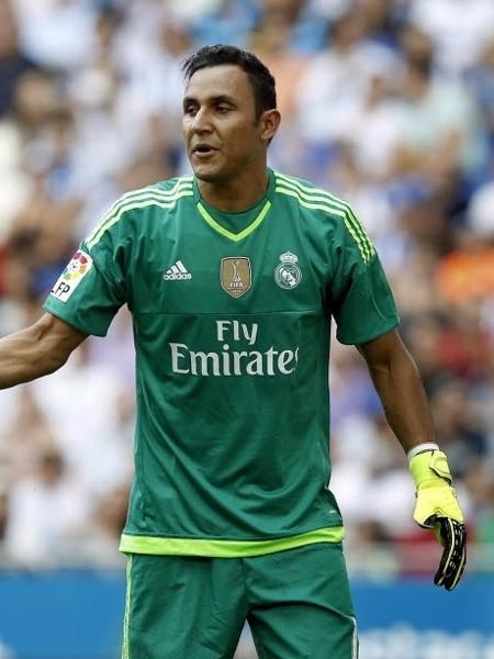 Keylor Navas durante partida do Real Madrid contra o Espanyol - Efe