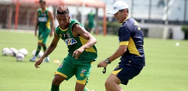 Caio Monteiro é orientado por Jorginho em treino do Vasco: virou xodó do técnico - Paulo Fernandes / Site oficial do Vasco
