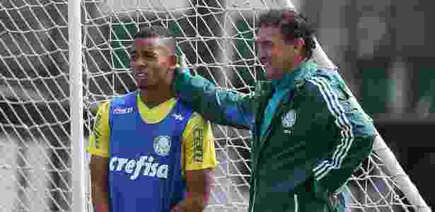 Cuca Gabriel Jesus - Cesar Greco/Ag Palmeiras - Cesar Greco/Ag Palmeiras