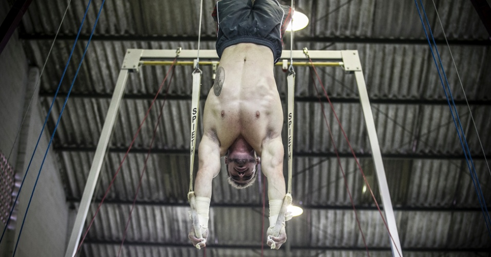 Especial Arthur Zanetti: exercícios nas argolas 1