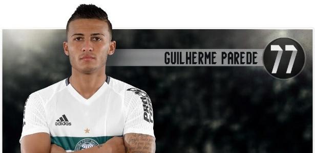 Guilherme Parede, atacante do Coritiba, atrai Internacional e Fluminense - Divulgação/Site oficial do Coritiba