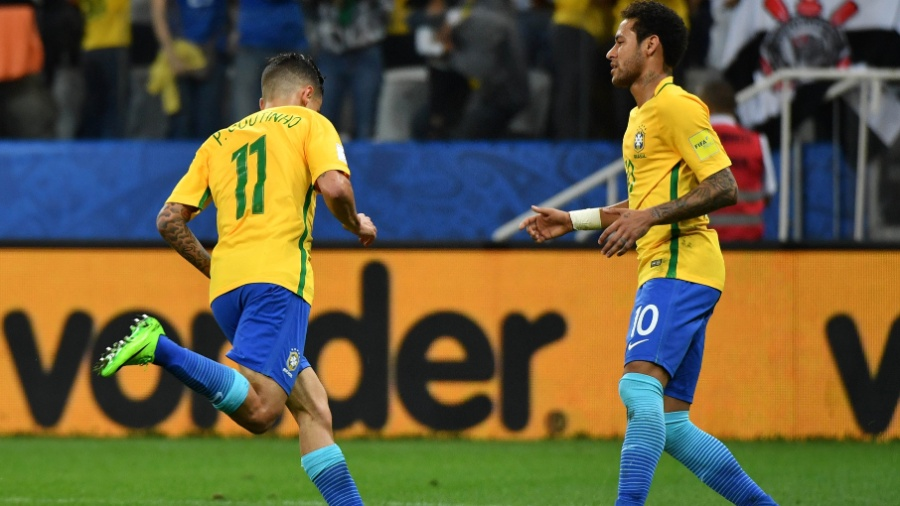 Neymar E Coutinho São Os Mais Citados No Twitter Em Janela