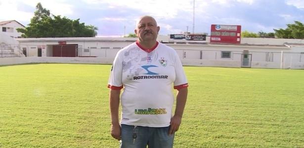 Hoje presidente, José Guilherme dirigiu o micro-ônibus do Salgueiro após fundação