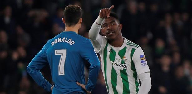 Firpo comemora após marcar contra o Real Madrid em fevereiro deste ano - Jon Nazca/Reuters