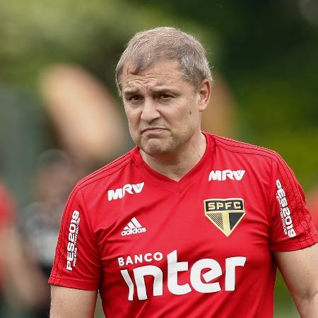 Diego Aguirre foi o último estrangeiro a comandar o São Paulo - Marcello Zambrana/AGIF