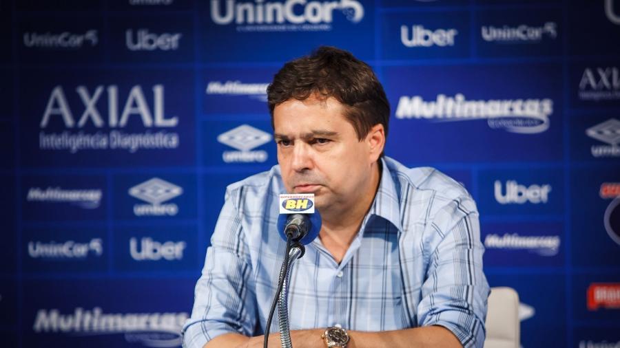 Itair Machado ocupou a vice-presidência de futebol do Cruzeiro na gestão sob investigação do MPMG - Vinnicius Silva/Cruzeiro