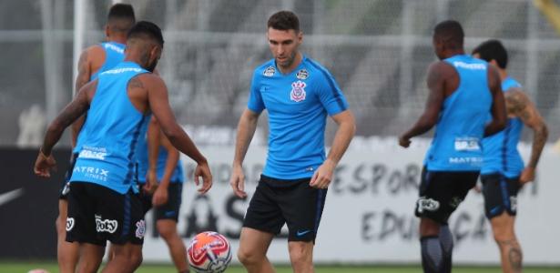 Argentino foi a campo pela primeira vez no Corinthians e já deixou o dele - HENRIQUE BARRETO/FUTURA PRESS/ESTADÃO CONTEÚDO