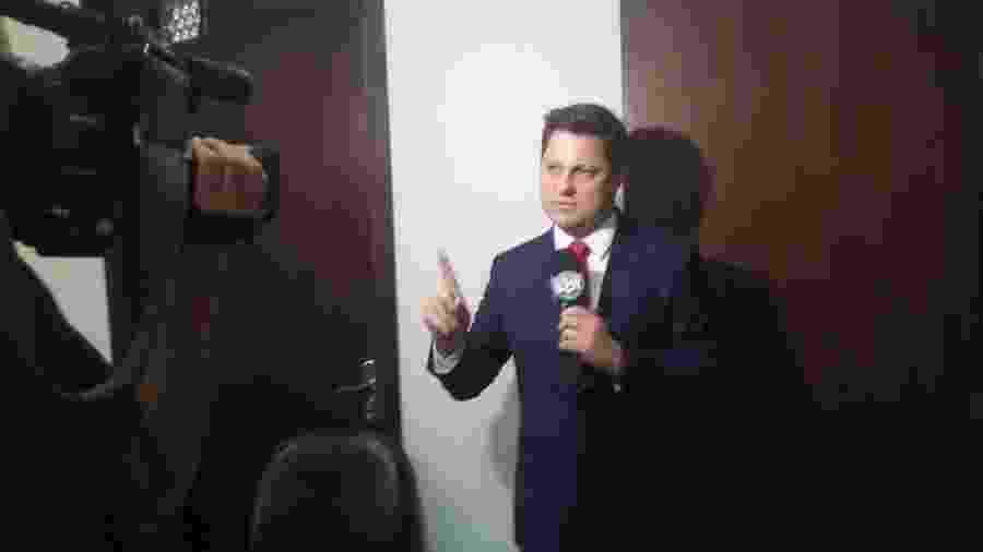 Eleandro Passaia, apresentado do Tribuna da Massa e testemunha de defesa do caso Daniel  - Dimitri do Vale/UOL