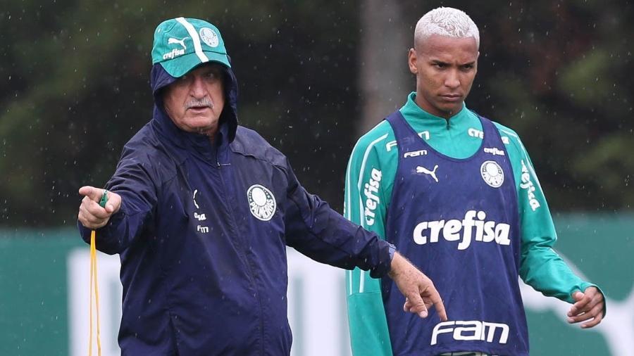 Deyverson não quis ir para a China e teve reunião com Galiotte - Cesar Greco/Ag. Palmeiras/Divulgação
