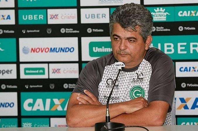Técnico Ney Franco durante passagem pelo Goiás