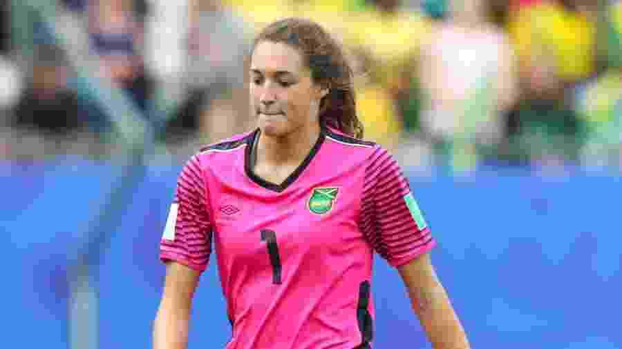 Sydney Schneider, goleira da Jamaica - Vanessa Carvalho/Brazil Photo Press/Folhapress
