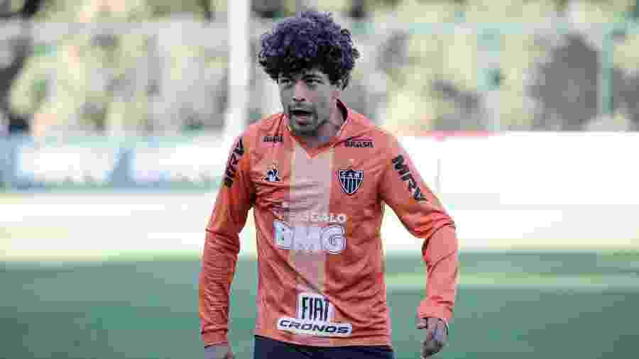 Luan, do Atlético-MG, acertou com o V-Varen Nagasaki, time da segunda divisão do Japão - Bruno Cantini/Atlético-MG