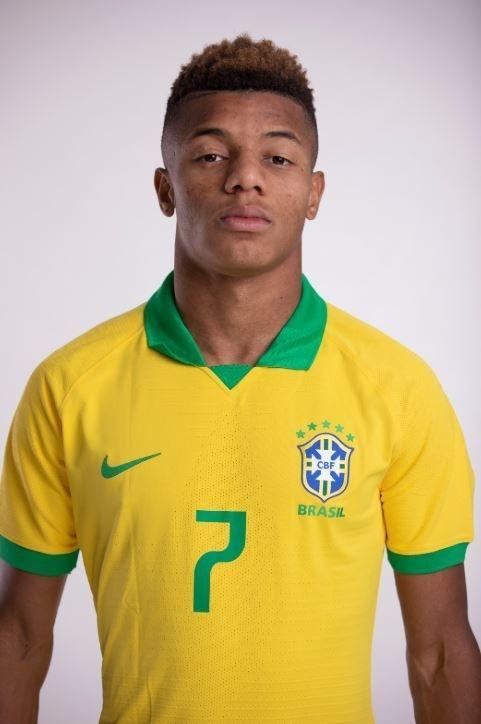 David Neres, atacante da seleção brasileira