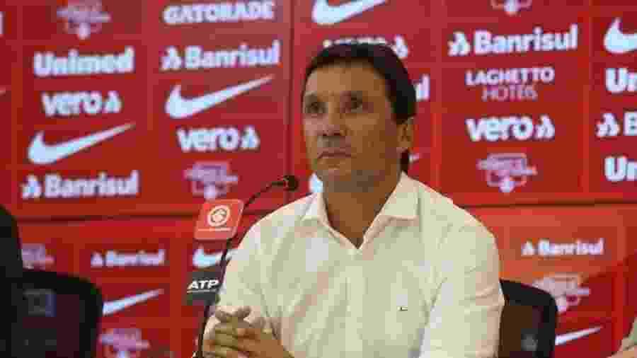 Zé Ricardo é apresentado e assume o comando técnico do Internacional  - Ricardo Duarte/Inter