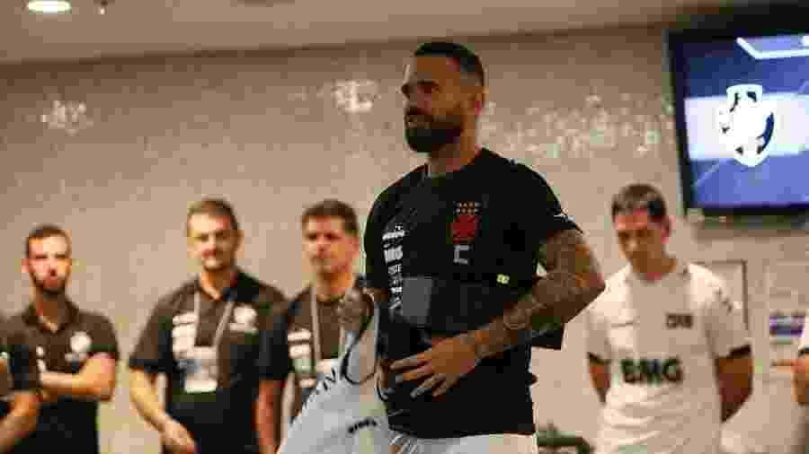 Leandro Castan desabafou em live da Vasco TV sobre os recorrentes salários atrasados no clube - Rafael Ribeiro / Vasco