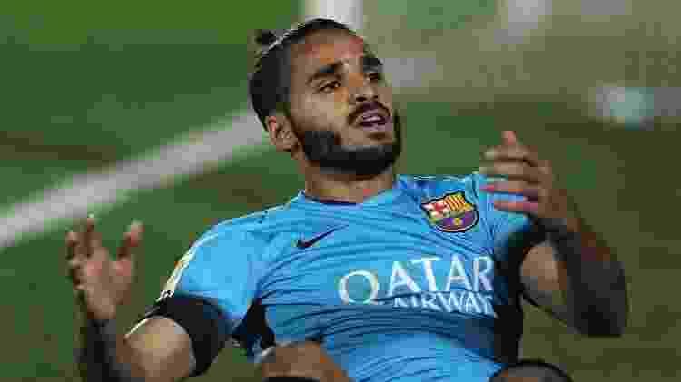 Douglas, do Barcelona - Cristian Quicler/AFP - Cristian Quicler/AFP
