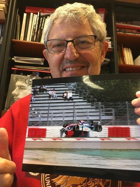 José Maria Rubio diz guardar com carinho sequência famosa de fotos - José Maria Rubio