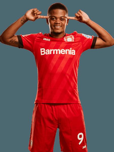 Leon Bailey, atacante do Bayer Leverkusen - Divulgação/Site oficial do Bayer Leverkusen