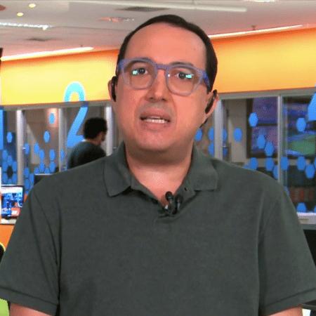 Carlos Cereto, em participação no SporTV News - Reprodução/SporTV
